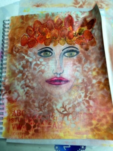 Art Journal Page September 4, 2014