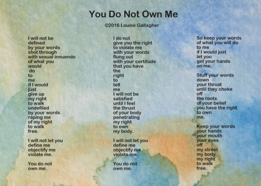 You do not own me copy